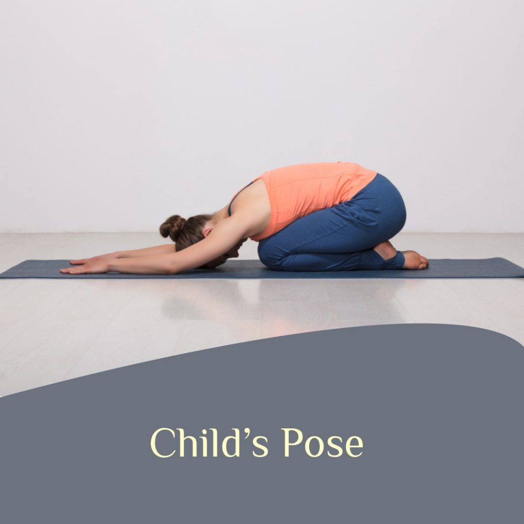 Child's Pose for weight loss