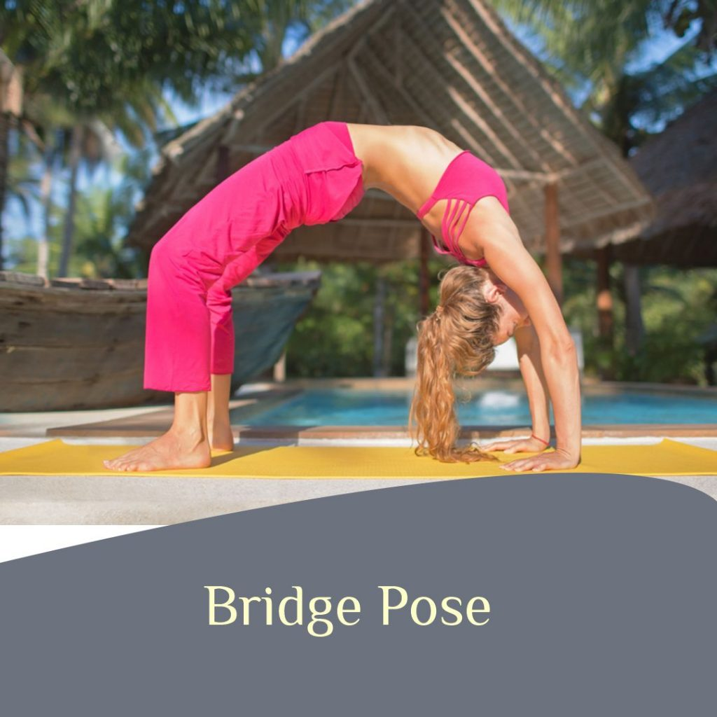Bridge Pose yoga for joint pain