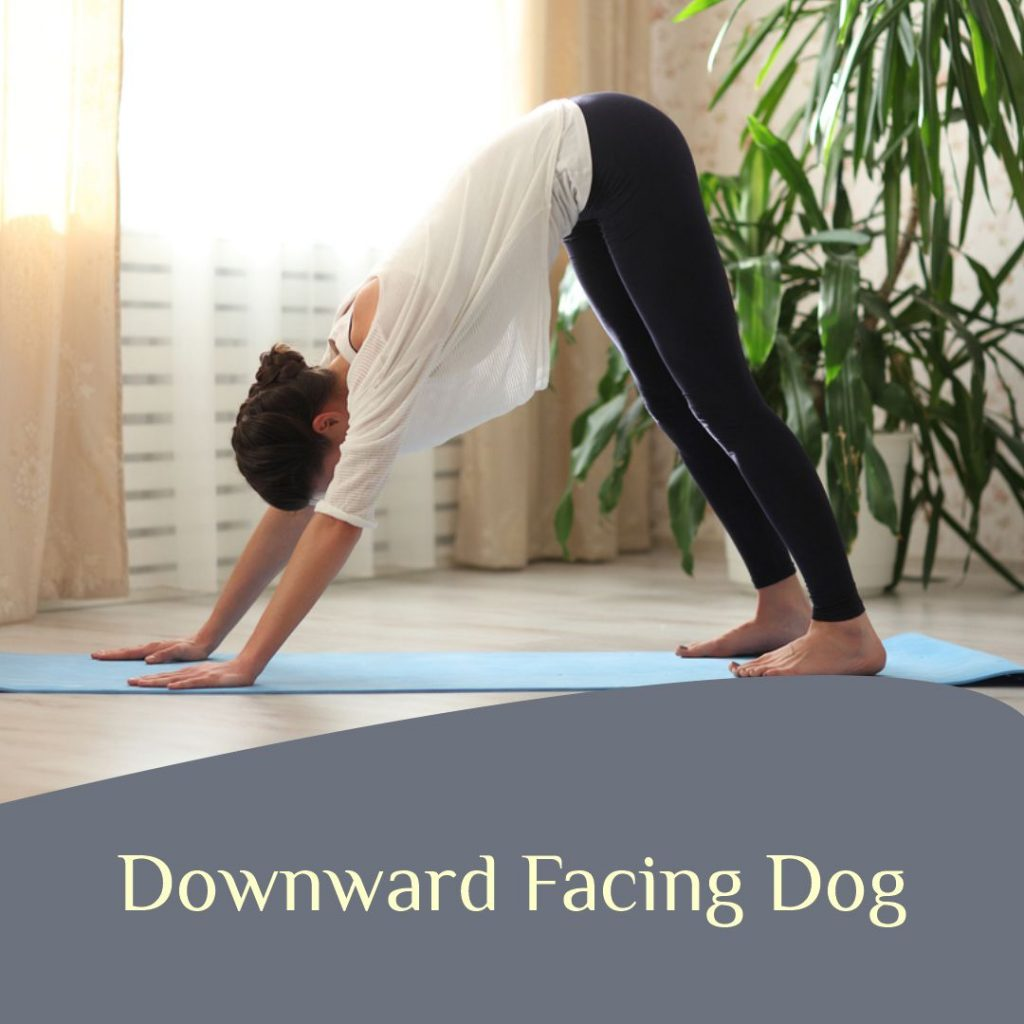 downward dog pose for joint pain