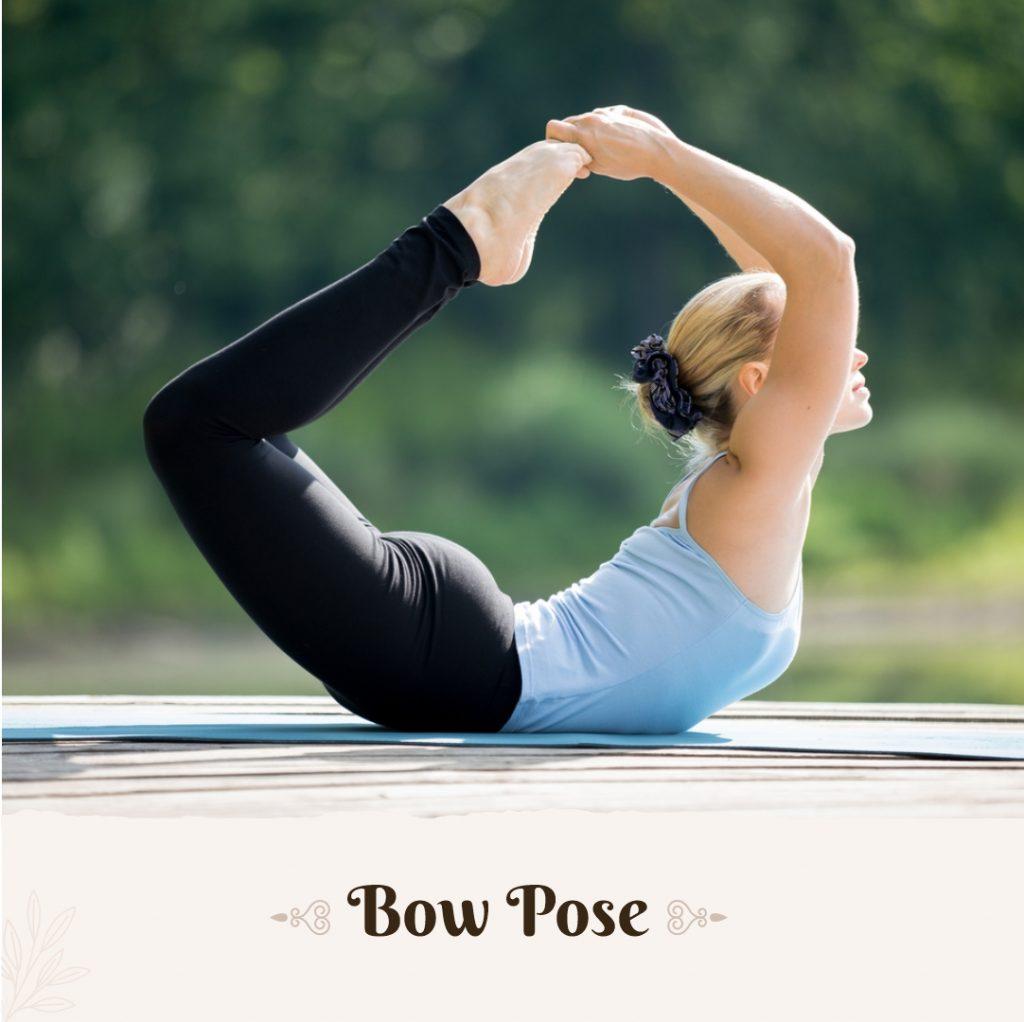 Bow Pose for doshas