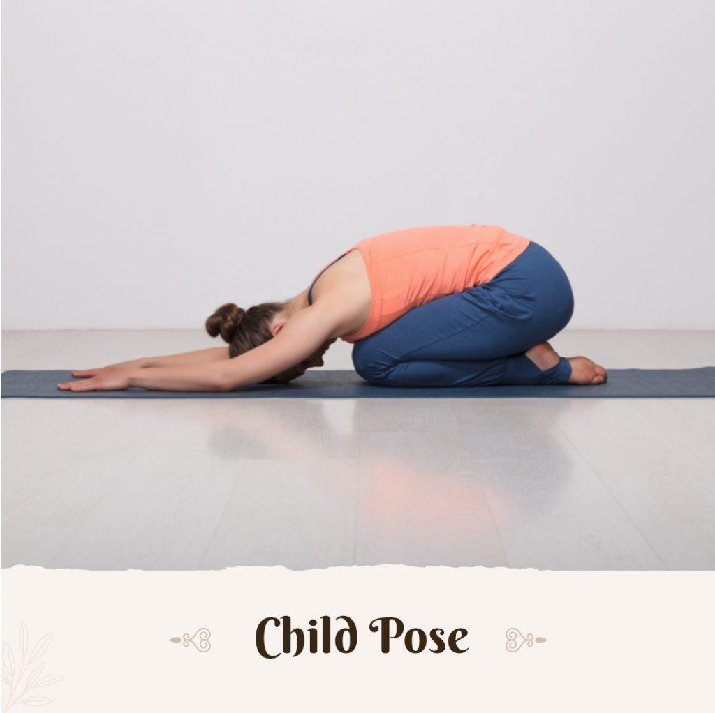 child pose for vata dosha
