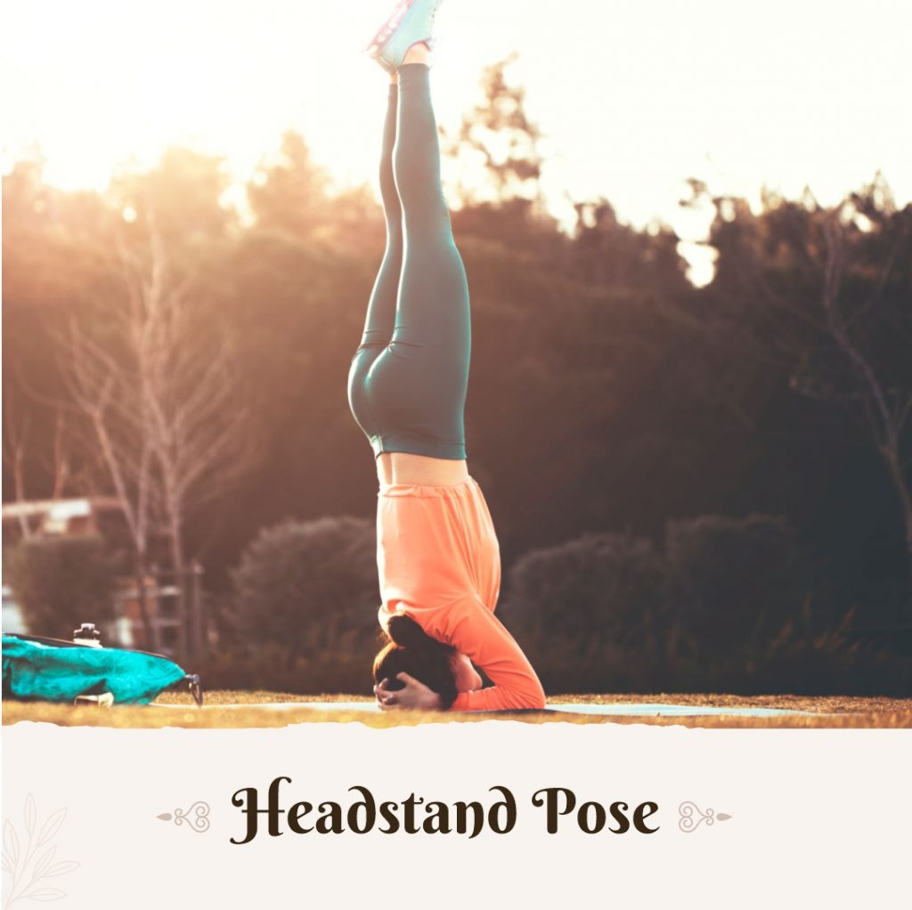 Headstand for pitta dosha