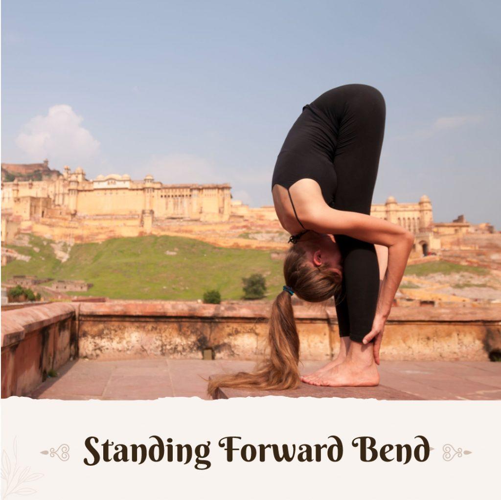 Standing Forward to Balance Vata Dosha